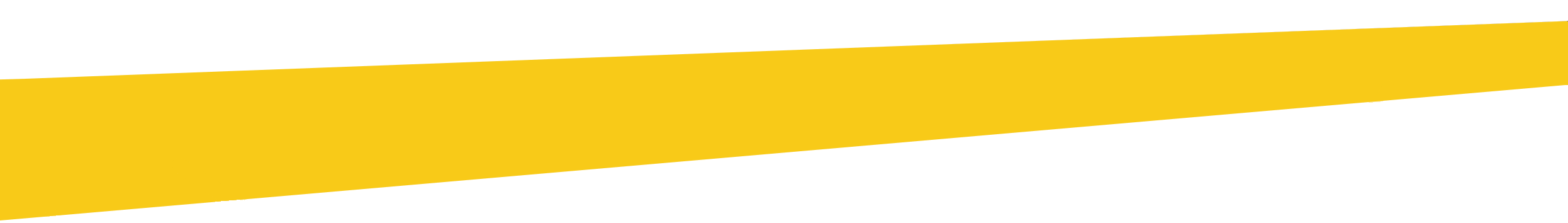 bande jaune diagonale