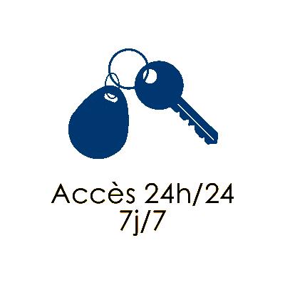 acces 24h24 7j/7